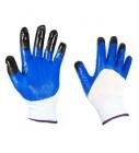 Перчатки нейлон нитрил облив с пальчиками (12/960)