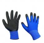 Перчатки нейлон анти-порез рефл.сине-черные (5/250)