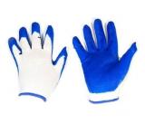 Перчатки нейлон нитрил Эконом оранжевые/синие (12/720)