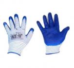 Перчатки нейлон матроска нитрил облив (синие) (720/12)
