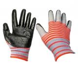 Перчатки нейлон анти-порез матроска серые (720/12)